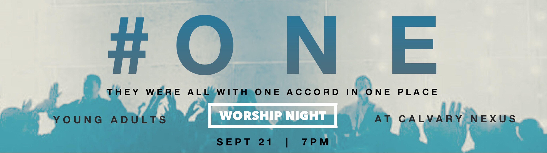 #ONE Worship Night